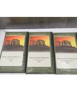 Great Courses Ancient & Medieval History Pt 1-3 Tulane U Rome & Barbaria... - $34.65