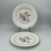"Vintage Noritake-Lindrose-#5234 Lot Of 2 10 1/2"" Dinner Plates - $19.79"