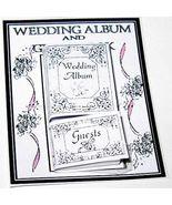 DOLLHOUSE Wedding Album and Guest Book NI220 A Novel Idea Miniature - $4.70
