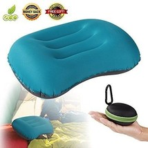 Inflatable Camping Backpacking Travel Pillow -camp Outdoor Hammock Lumb... - $36.95