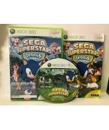 Sega Superstars Tennis (Microsoft Xbox 360, 2008) - $3.22