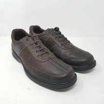 Clarks Mens Sherwin Way Oxford Shoes Brown Black Lace Up Low Top 14 M - $19.87