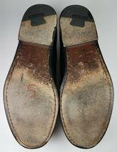 COLE HAAN Men's Loafers 9 D Leather Black Pinch Tassel Slip On Dress Shoes image 9