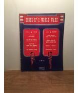 Songs of 2 World Wars Music Lyrics Book Chappell publishing - $14.84