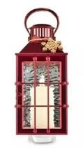BATH & BODY WORKS Candle LANTERN Red NIGHTLIGHT WALLFLOWERS FRAGRANCE PL... - $12.97
