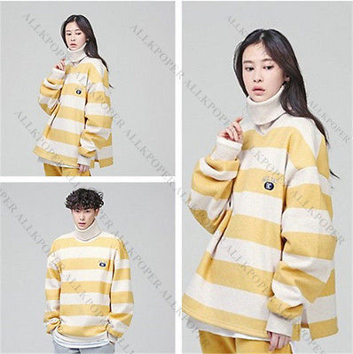Korean Weightlifting Fairy Kim Bok-Joo Oversized Sweater Women Turtleneck Hoodie for sale  USA