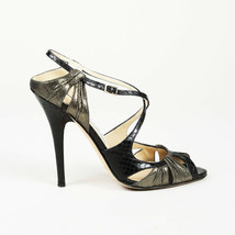 Jimmy Choo Snakeskin Leather Strappy Sandals SZ 38 - $405.00