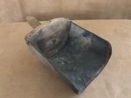 """12"""" Vintage flour scoop general store cooking wood bulk goods sugar scoo... - $34.50"""