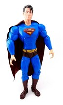 "DC Superman Returns Movie Hyperposeable SUPERMAN 14"" Deluxe Action Figure Mattel - $34.04"