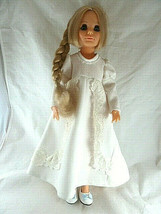Kerry Vintage Ideal 1970 Doll growing hair Crissy family 18 in blonde bl... - $44.54