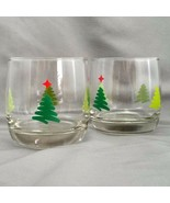 Cristal D'Arques Scribble Tree Double Old Fashioned Glasses Set of 2 Chr... - $15.84