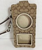 COACH Signature Tan/Brown Apple Ipod Nano Case Holder - $9.69