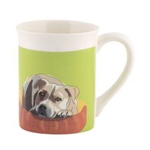 Department 56 Go Dog Pit Bull Mug, 4.5 inch