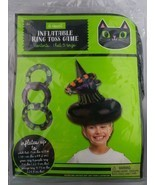 Inflatable Witch Hat Ring Toss Game Halloween Party Game - £3.62 GBP