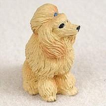 Conversation Concepts Poodle Apricot Tiny One Figurine - $9.99