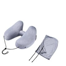 Travel Pillow for Airplanes Inflatable H Shape Neck Pillow Set - €20,27 EUR