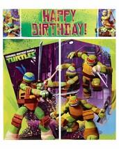 Teenage Mutant Ninja Turtles Birthday Scene Setter Wall Decorations - $11.63