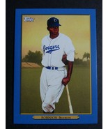 2020 Topps Series 2 Turkey Red Jackie Robinson Dodgers Blue Parallel Car... - $24.99
