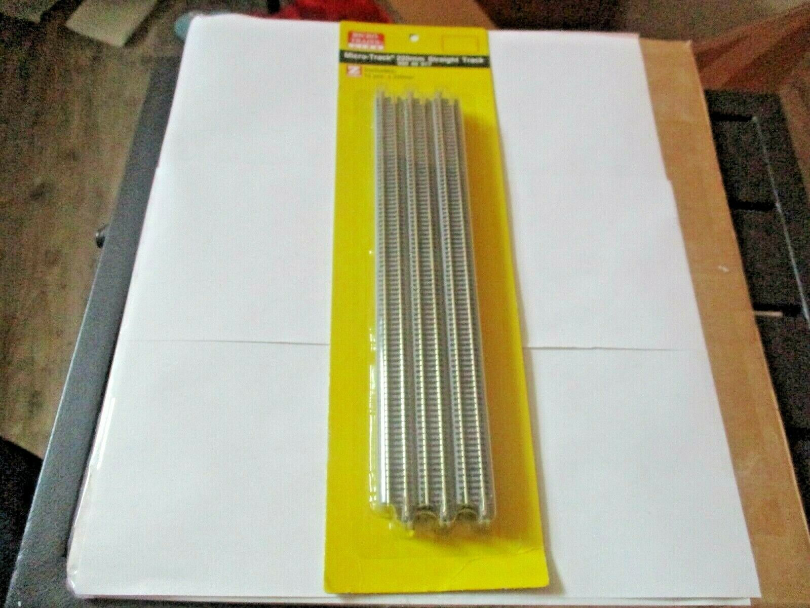 Micro-Trains Micro-Track # 99040917 220mm Straight Track, 12 Pieces, Z-Scale