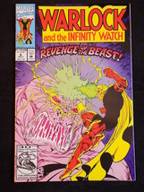 Marvel Comics Warlock And The Infinity Watch N0. 6 May 1992 Graphic Novela - $3.95