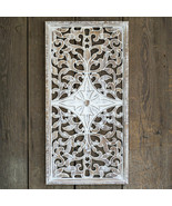Architechural new Large Wood Wall Hanging - ON SALE - $109.00