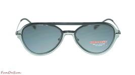 Prada Men Sunglasses PS04TS P2X5Z1 Grey/Polar Grey Polarized Lens 57mm image 2