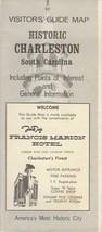 Vintage Travel Brochure Historic Charleston South Caroiina Frances Mario... - $8.90