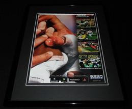 NCAA 2K3 Gamecube XBox PS2 Framed 11x14 ORIGINAL Advertisement  - $22.55