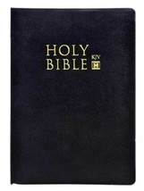 Holy Bible King James Version Soft Bound Black - $8.90