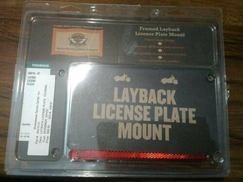 Used Harley Davidson framed layback license and 50 similar items