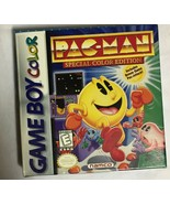 Nintendo Game Boy Color Pac Man Namco Just Box and Booklet - No Cartridge - $9.80