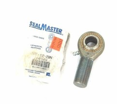 LOT OF 2 NEW SEALMASTER ARE-12-20N ROD END BEARINGS ARE1220N