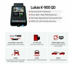 Lukas K-900 QD 2Ch QHD/FHD 3.5In 32Gb ADAS 3.0 GPS Sony Exmor R STARVIS / FedEx image 5