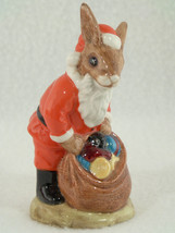 Authentic Royal Doulton 1981 BUNNYKINS Happy Christmas~DB17~MINT~Perfect - $44.99
