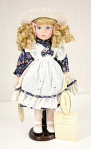 Vintage Elizabeth Gray Doll RARE HTF Laurel Hand Painted Country Porcela... - $59.39