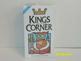 Kings in the Corner Game 1996 JAX Makers of Sequence New Card Board Family Fun - $21.29