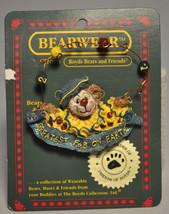 Boyds Bears & Friends BEARWEAR - Life's A Juggle - 02001-11, Brooch Pin - $11.18