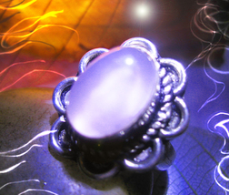 Haunted RING FAME JOY DANCE MUSE SPIRIT VESSEL 925 MAGICK WITCH Cassia4  - $30.00