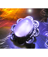 Haunted RING FAME JOY DANCE MUSE SPIRIT VESSEL 925 MAGICK WITCH Cassia4  - $87.77