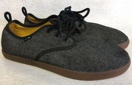 Sanuk Guide TX Lace Up Loafers 1014122 Black / Gum Slip On Men's Shoes 9 1014122 - $39.99