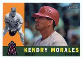 2009 Topps Heritage #705 Kendry Morales Angels (High Series) NM-MT (SP -... - $6.00