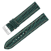 Breitling Y999 18-18mm Genuine Leather Green Unisex Watch Band w. Buckle - $249.00