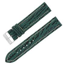 Breitling Y999 18-18mm Genuine Leather Green Unisex Watch Band w. Buckle - $329.02 CAD