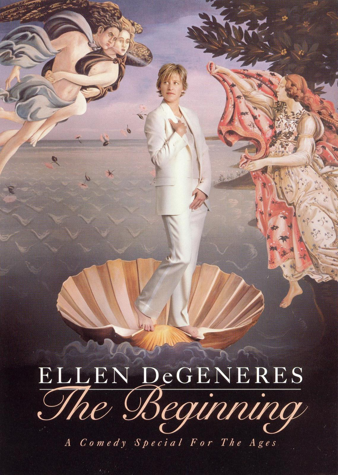 Ellen Degeneres The Beginning DVD - Snapcase 2001