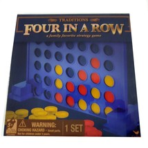 Cardinal Traditions Four in a Row Board Game Family Strategy 3+ 2 Players - $7.91