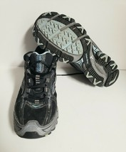 SAUCONY Excursion TR6 Women's Size 9.5 Trail Walking Shoe Grey / Blue / ... - $39.15
