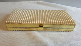 JR Florida USA Small Clutch Purse with Rhinestones or Faux Pearls - $20.00