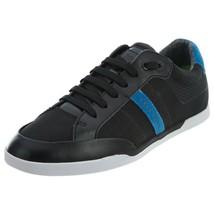 Hugo Boss Men's Premium Sport Profile Sneaker Shoes Shuttle Tenn Tech Black