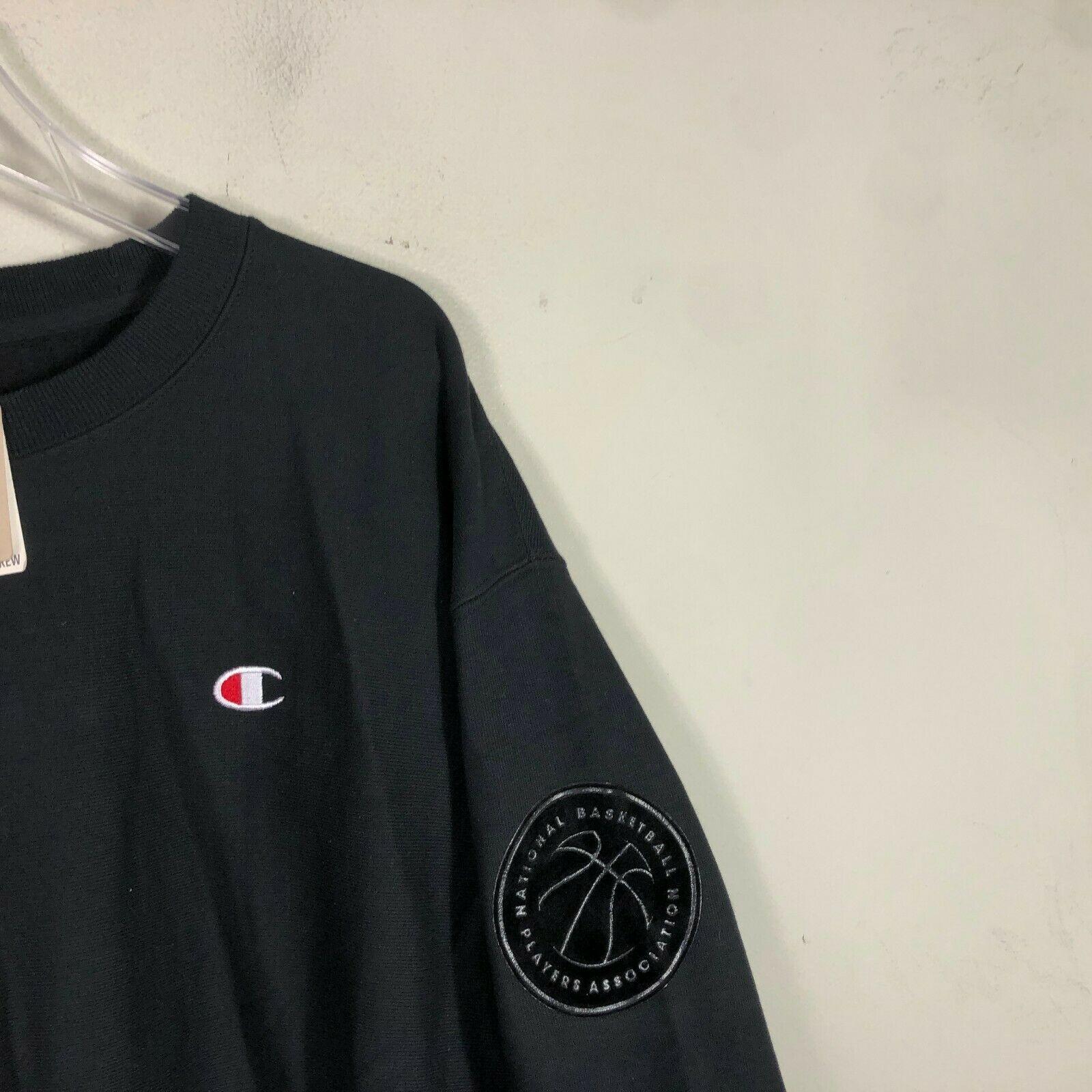 Vintage Champion Crew Neck Reverse Weave Sweatshirt 2XL NBA NBPA Sweatshirt NWT image 6