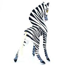 Handmade Alebrije Oaxacan Copal Wood Carving Folk Art Zebra Horse Figure image 3